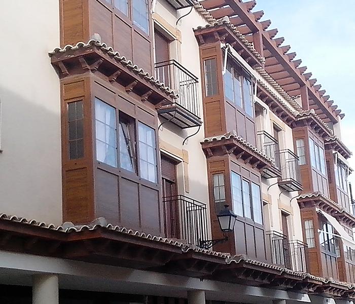 Balcones y miradores - Estores para balcones ...